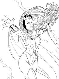 X men coloring pages for kids. Storm Commission By Jamiefayx On Deviantart Coloring Pages Marvel Coloring Superhero Coloring Pages