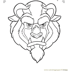 Small Picture Beauty Beast Coloring Page 07 Coloring Page Free Miscellaneous