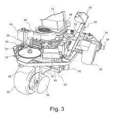 patent us8521384 turf maintenance vehicle all wheel drive system patent drawing