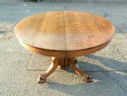 round dining table extending extending dining tables mid century vintage lexington extending