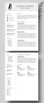 Modern Resume Template Oddbits Studio Free Download Resume Template Ms Word Professional Cv Template Creative Resume