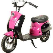rebo retro pocket mod electric 24v city scooter ride on motorbike