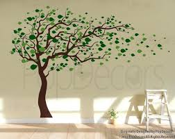 tree stencil for wall room large stencils painting
