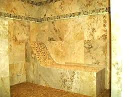 stone shower bench stone shower bench building a shower bench showers built in shower seat stone