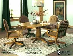 swivel chair dining dining room table casters artistic swivel dining room chairs dining room table with