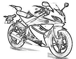 Small Picture Motorcycle Coloring Pages 12 Coloring Kids