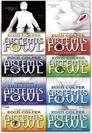artemis fowl collection eoin colfer 8 books set by eoin colfer