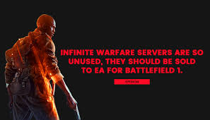 Infinite Warfare Servers Are So Unused They Should Be Sold