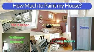 how much does it cost to paint a bedroom cost of painting home interior