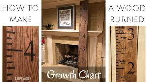 How To Mark A Wooden Growth Chart Growth Chart Ruler Tick Mark Template