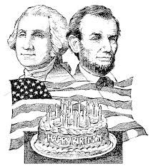 Image result for George Washington and abe lincoln silhouettes