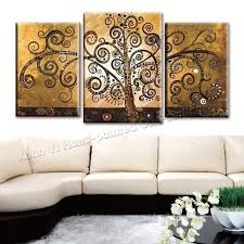 3 piece canvas wall art hand painted canvas abstract oil painting tree multi panel large home on large multi panel canvas wall art with 3 piece canvas wall art hand painted canvas abstract oil painting