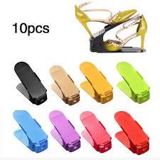 10 шт. прочный регулируемый <b>органайзер для обуви</b>, стойка для ...