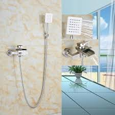 Waterfall Bathtub Popular Brushed Nickel Bathtub Faucets Buy Cheap Brushed Nickel