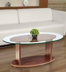 57 fabulous oval glass coffee table