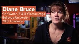 Diane Bruce: B&B Classic Dogs | Bellevue University - YouTube