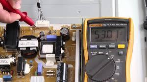 samsung tv un32eh4003fxza. samsung un46fh6030fxza led tv no backlights voltage test troubleshoot leds \u0026 power supply - youtube tv un32eh4003fxza