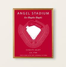 Angel Stadium Los Angeles Angels Angel Stadium Seating