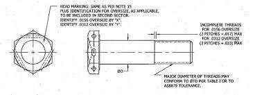 Nas Bolt Size Chart Nas Bolts Manufacturer Distributor Nas6603 Nas6610