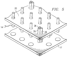 Patent us6911834 multiple contact vertical probe solution drawing online circuit drawer