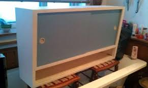 retro 50s 60s vintage kitchen cabinet