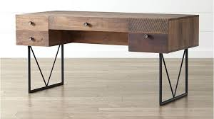 reclaimed wooden desk wood desks home office with regard to inspirations 7