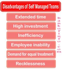 Disadvantages Of Teamwork Disadvantages Of Self Managed Teams Organizational