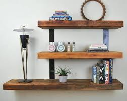 wooden wall shelves floating shelves