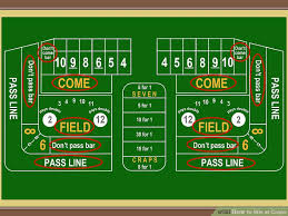 Craps Odds Chart 3 Ways To Win At Craps Wikihow