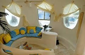 Unique Living Room Designs Unique Living Room Interior With Blue And Yellow Designunique