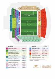 Banc Of California Stadium Layout And Pricing Banc Of