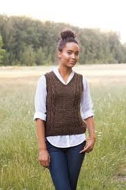 Free Knitted Vest Patterns Magnificent Knitting Search From KnitPicks