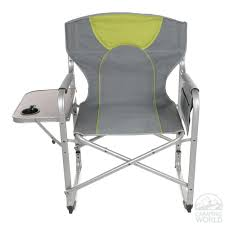 heavy duty folding chair with side table. folding chair side table picnic time clip on heavy duty with r