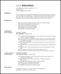 Boutique Owner Resume Free Entry Level Recruiter Resume Template Resume Now