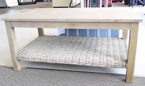 capris furniture casual coffee table woven shelf capris furniture 752 coffee table item number ct752 gray wash