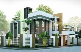 Small Picture 50 IMAGES OF 15 TWO STOREY MODERN HOUSES WITH FLOOR PLANS AND