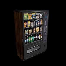 Vending Machine 3d Unique Free Snack Machine 48d Model