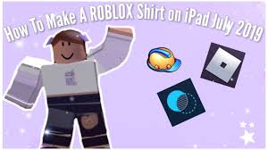 How To Make Shirts Roblox How To Make A Shirt In Roblox Ipad