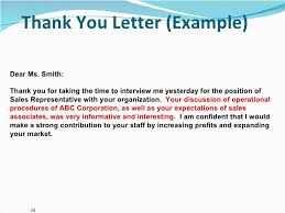 Best Solutions Of Business Meeting Thank You Letter Examples