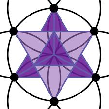 purplemerkaba purplehexagramhexagon