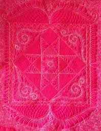How To Make A Wholecloth Quilt: 5 Easy Tips & Pink whole cloth quilt Adamdwight.com