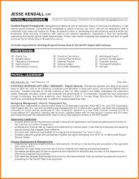 Payroll Accountant Resume Payroll Accountant Resume Format Hr Manager Job Description 18