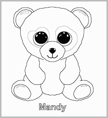 Beanie Boo Coloring Pages Admirable Ty Beanie Boo Coloring Pages