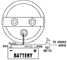 Battery Voltage Meter Wiring Diagram For DC Power Supply Wiring Diagram