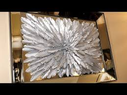 Featherless!! ZGALLERIE Inspired Feathered Silver <b>Wall Art</b> DIY ...