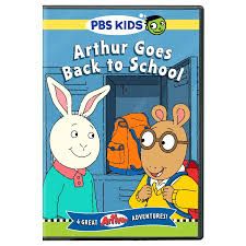 a new pbs kids dvd release arthur goes back to