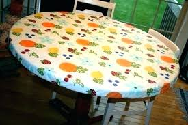 plastic square fitted tablecloths vinyl loth with elastic table covers edge heavy duty clear round cover