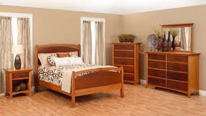 Oasis Bedroom Furniture Millcraft Oasis Bedroom With Panel Bed Shown In Maple