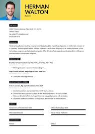 Ready to start with your college student curriculum vitae? Student Resume Examples Writing Tips 2021 Free Guide Resume Io