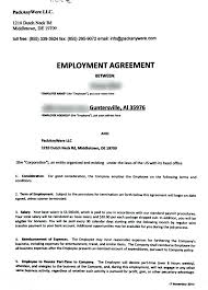 Job Contract Template Template Employees Contract Template 17